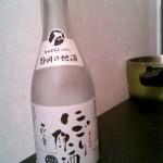 にわか日本酒レビュー18 花の舞 辛口純米 にごり原酒