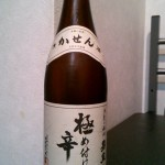にわか日本酒レビュー22 嘉泉 極め付け辛口