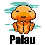 パス落書き パラオのタコクラゲ